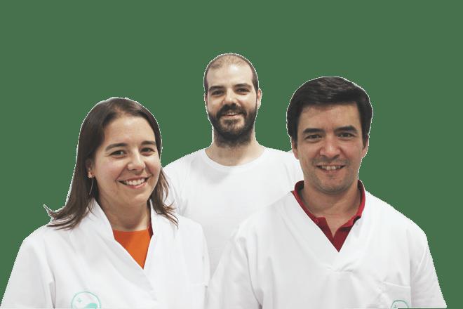 Tatiana, Tiago e Miguel, Fundadores da Clínica Médica do Porto