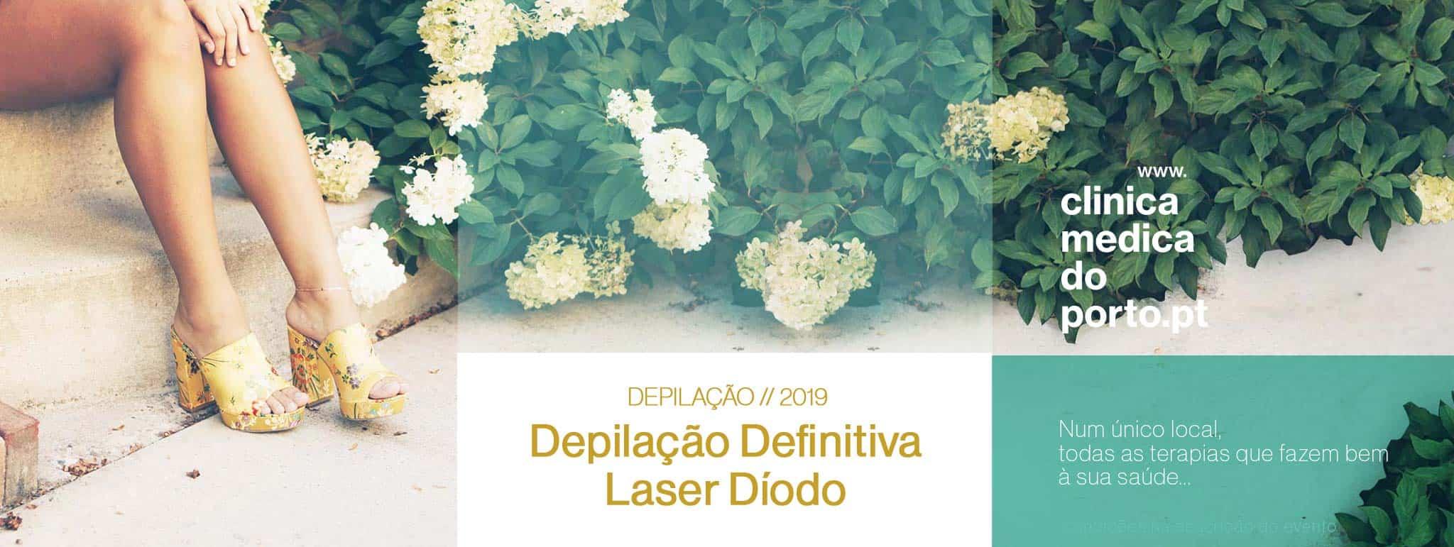 Depilação Definitiva a Laser - Porto