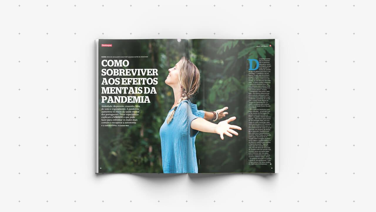Revista Sábado - Imagem do Artigo Sobreviver aos Efeitos da Pandemia